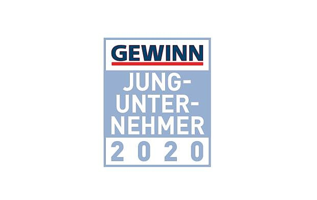 Logo: Gewinn Jungunternehmer 2020