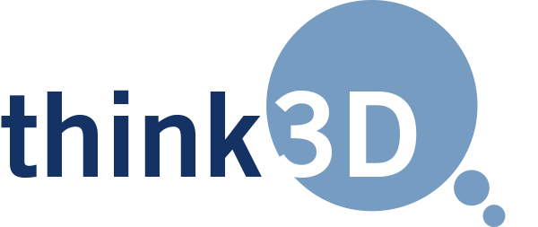 Logo: THINK 3D software