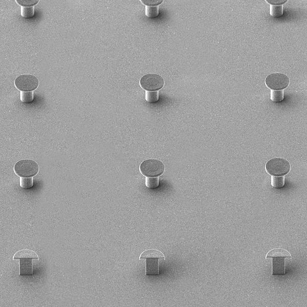REM photo: close-up of surface elments
