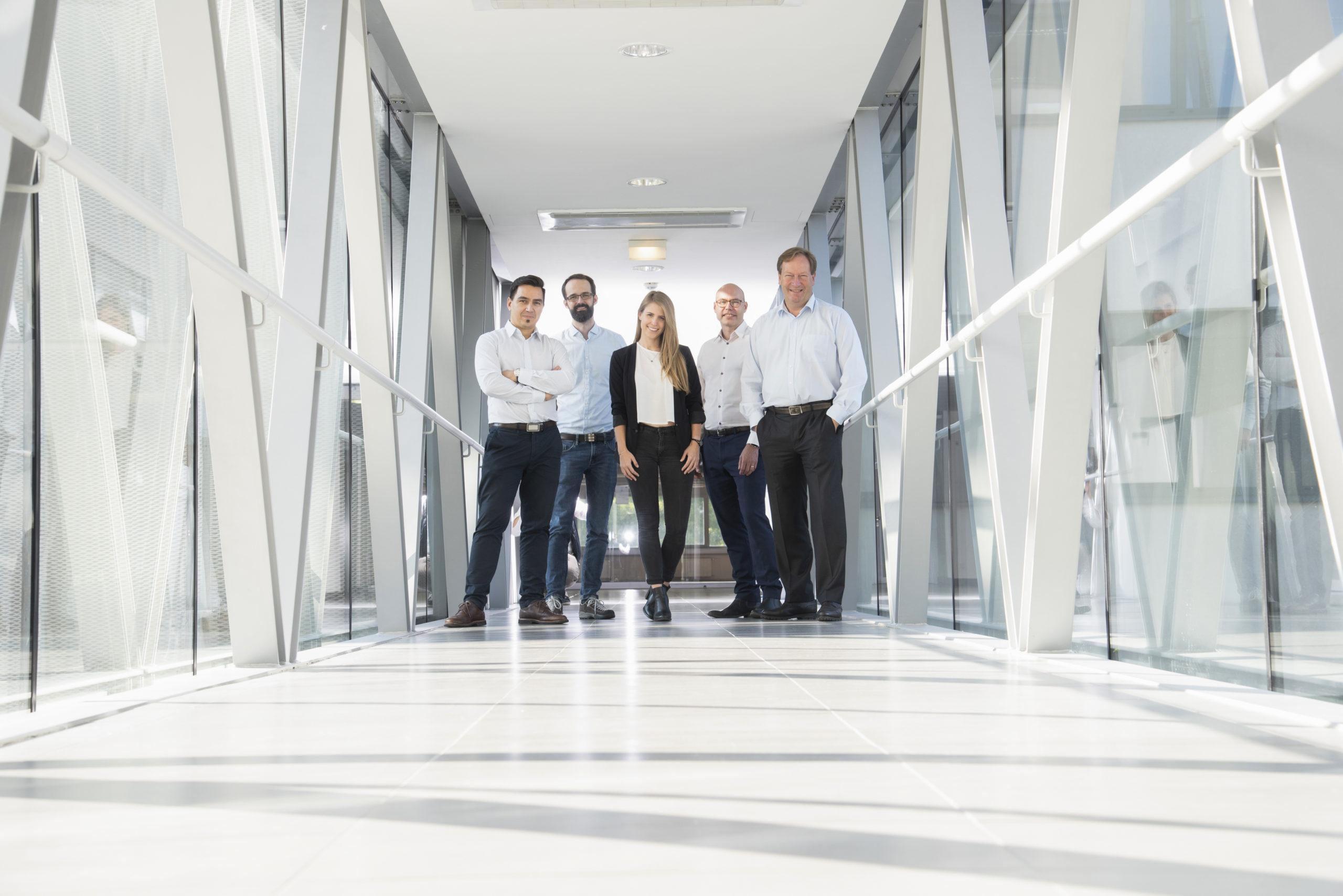 Group photo: UpNano Management Team