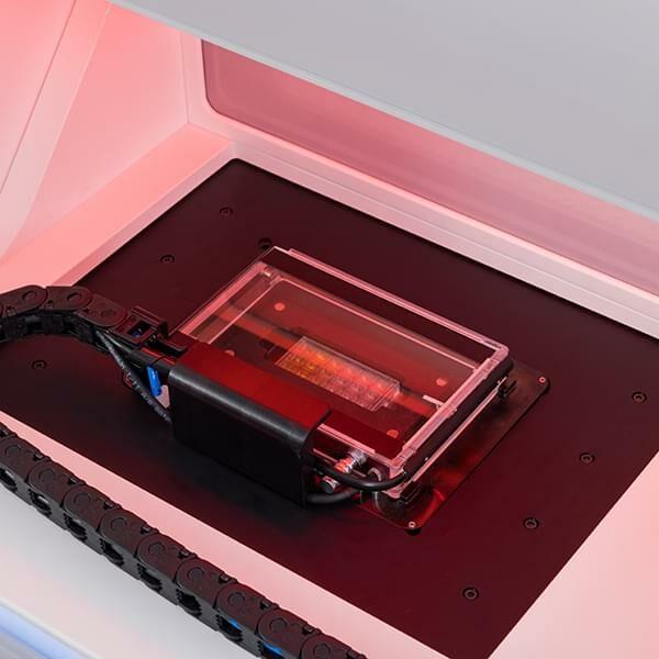 Photo: Incubation system inside NanoOne